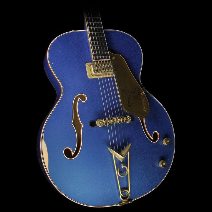 Gretsch Custom Shop Masterbuilt Stephen Stern '59 Falcon Relic Lake Placid Blue C17011495