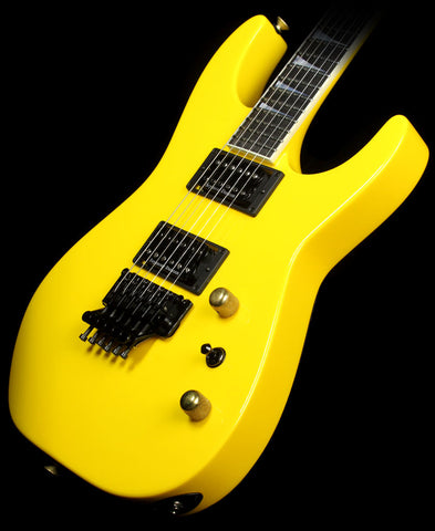 Jackson Custom Shop Exclusive SL2H-V Soloist Electric Guitar Yellow