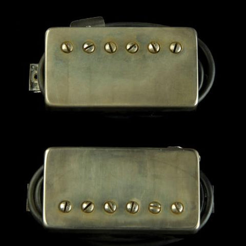 Bare Knuckle The Mule Humbucker Pickup Set (Aged Nickel)