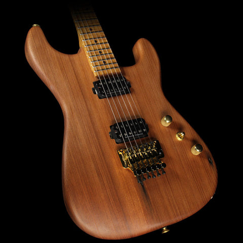 Charvel Custom Shop Exclusive Carbonized Recycled Redwood San Dimas HH Electric Guitar