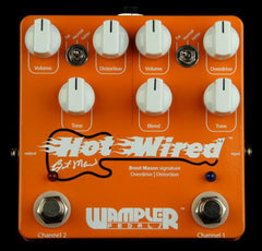 Wampler Hot Wired Version 2 Brent Mason Overdrive / Distortion Pedal
