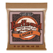 Ernie Ball Earthwood Light Acoustic Guitar Strings11-52