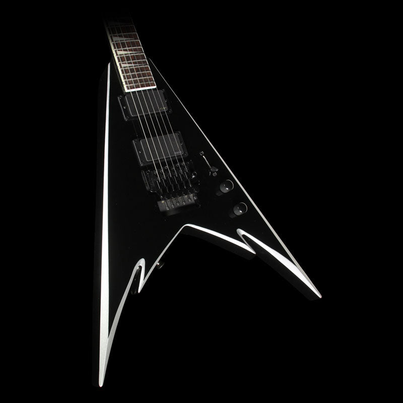 Jackson X Series Phil Demmel Demmelition King V PDX-2 Electric Guitar Black with Silver Bezels