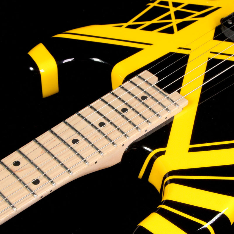 EVH Striped Series Black with Yellow Stripes 5107902528