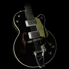 Gretsch G6118T-LTV 130TH Anniversary Jr Electric Guitar Black and Metallic Gold