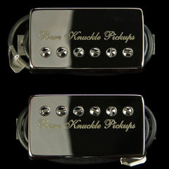 Bare Knuckle VHII Humbucker Pickup Set (Nickel with Bare Knuckle Etch)