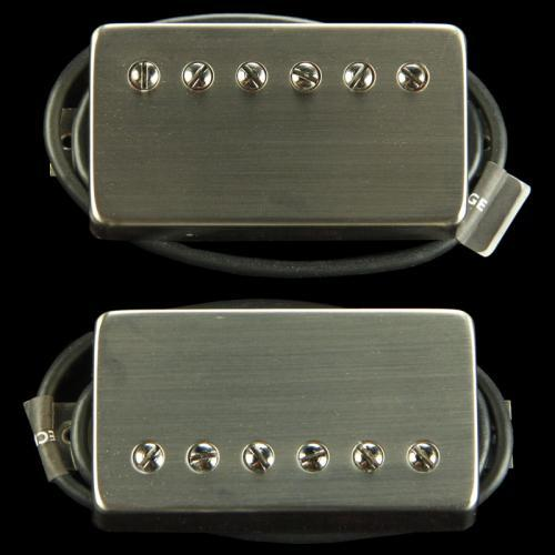 Bare Knuckle Abraxas Humbucker Pickup Set (Brushed Nickel)