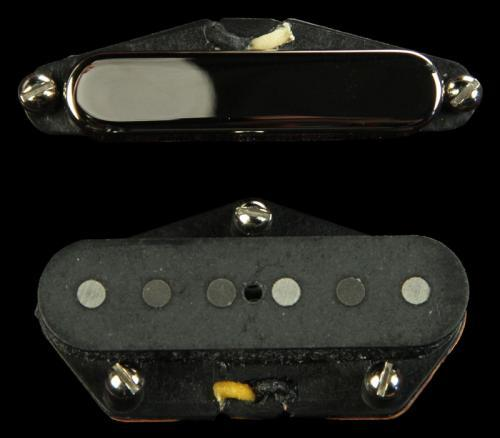 Bare Knuckle Blackguard Tele Flat '52 Pickup Set (Nickel)