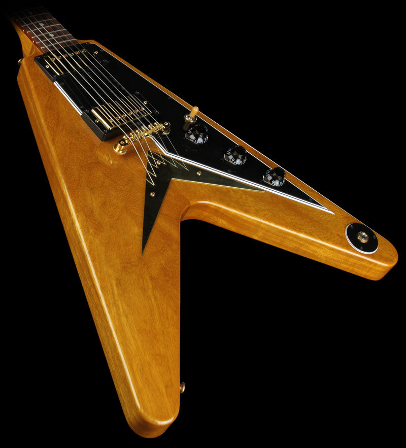Used 2008 Gibson Custom Shop 50th Anniversary Korina Flying V Electric Guitar