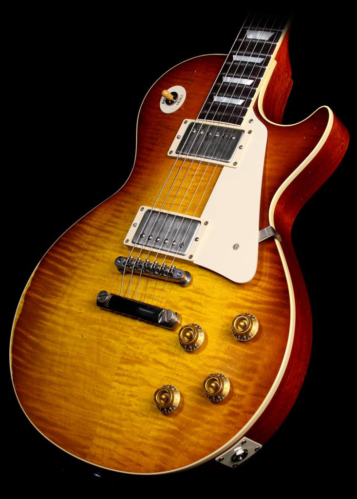 Used Gibson Limited Edition Custom Shop '59 Les Paul Electric Guitar Heavily Aged Slow Iced Tea Fade