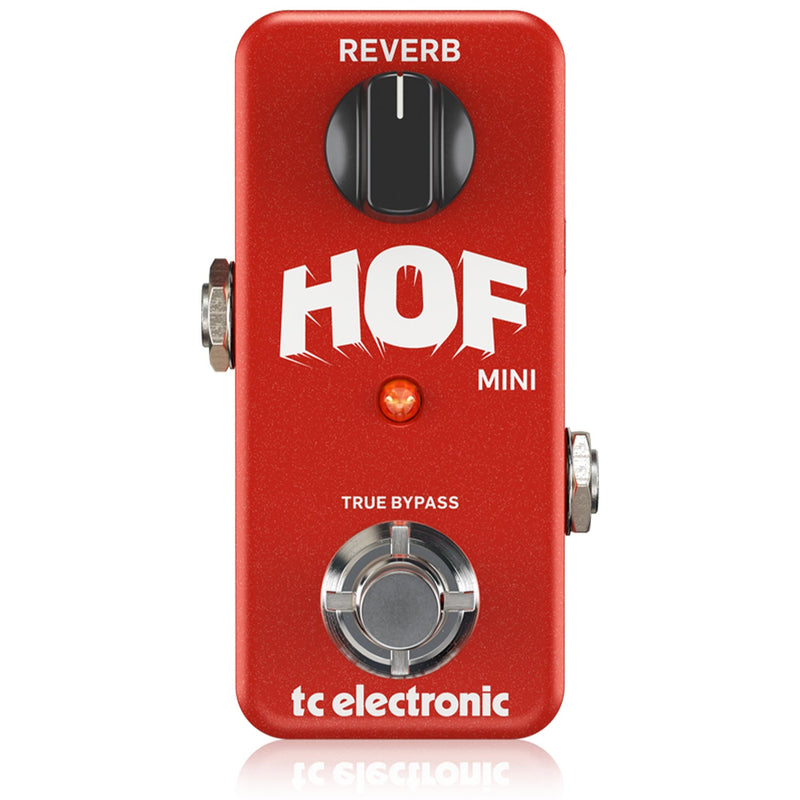 TC Electronic Hall of Fame Mini Reverb Effect Pedal 960803001