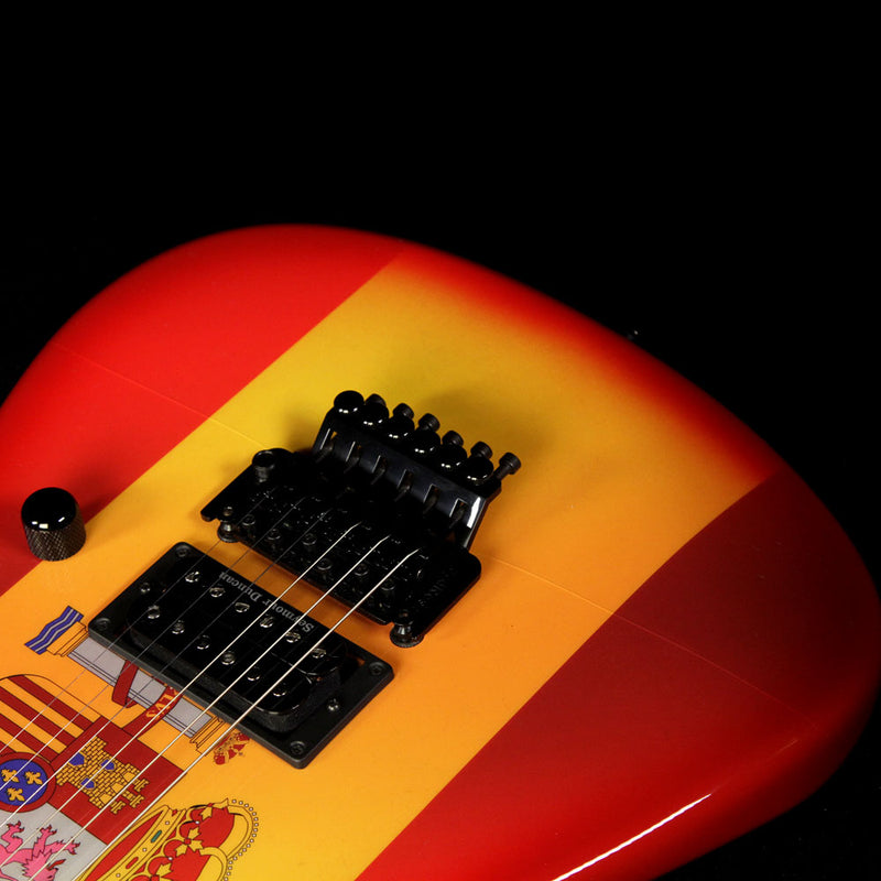 Used 2014 Charvel Custom Shop San Dimas Spain Flag Electric Guitar C9375