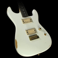Charvel Custom Shop Nitro Aged San Dimas Electric Guitar Olympic White