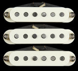Bare Knuckle Pat Pend Strat Series '63 Veneer Pickup Set (Parchment)