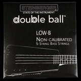 Steinberger Double Ball Low-B 5-string Bass Guitar Strings (45-128)