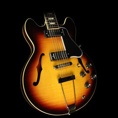 Gibson Memphis ES-390 Figured Maple Electric Guitar Vintage Sunburst