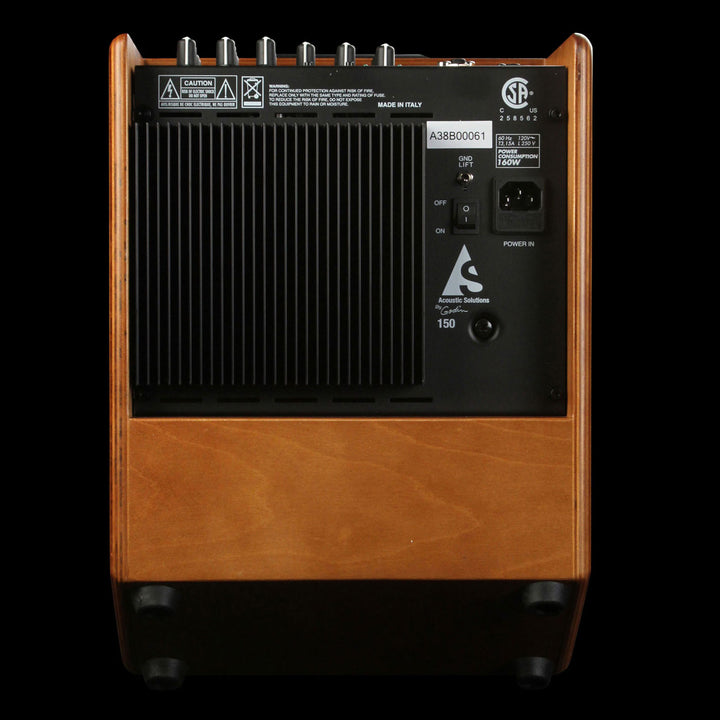 Acoustic Solutions ASG-150 Guitar Amplifier Wood 039135