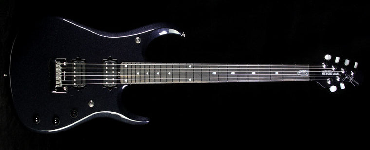 Used 2015 Ernie Ball Music Man Ball Family Reserve John Petrucci JPXI Electric Guitar Onyx