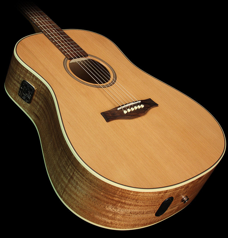 Seagull S6 Music Zoo Exclusive Koa Dreadnought Acoustic/Electric Guitar