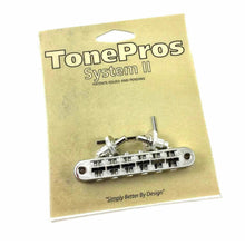 Tone Pros T3BP-N Nashville Tunematic Nickel Locking Bridge