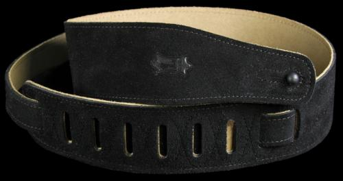 Levy's MS26 Soft Suede Guitar Strap Black