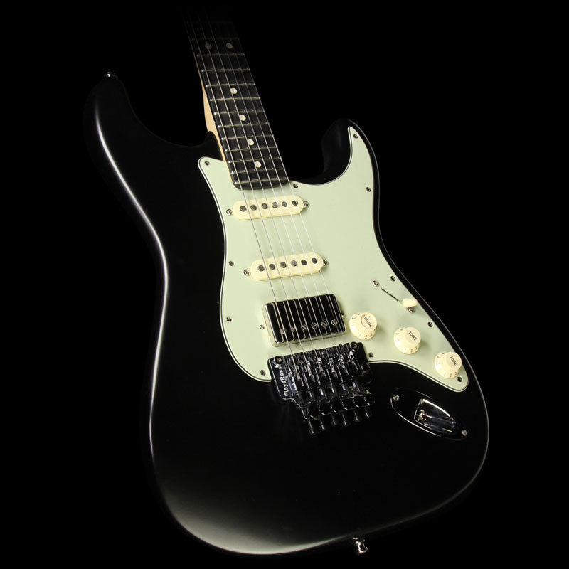 Used Fender Custom Shop Exclusive ZF Stratocaster Electric Guitar Matte Black