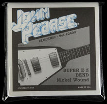 John Pearse 2400 Electric Guitar Strings Super EZ Bend Pure Nickel (9-42)