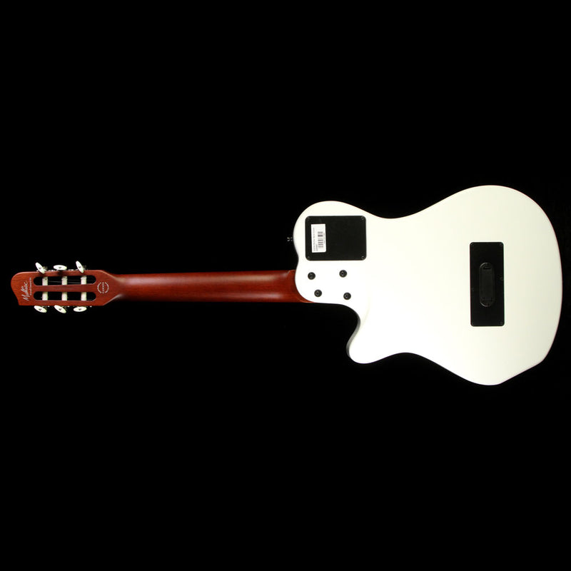 Used Godin Multiac Grand Concert Duet Ambiance Acoustic-Electric Guitar White 039487
