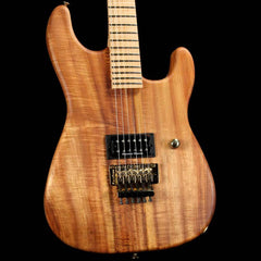 Charvel Custom Shop San Dimas Figured Koa 24-Fret Natural Oil