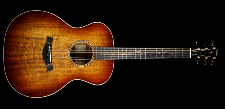 Used 2015 Taylor K24e Koa Grand Auditorium Acoustic Guitar Natural