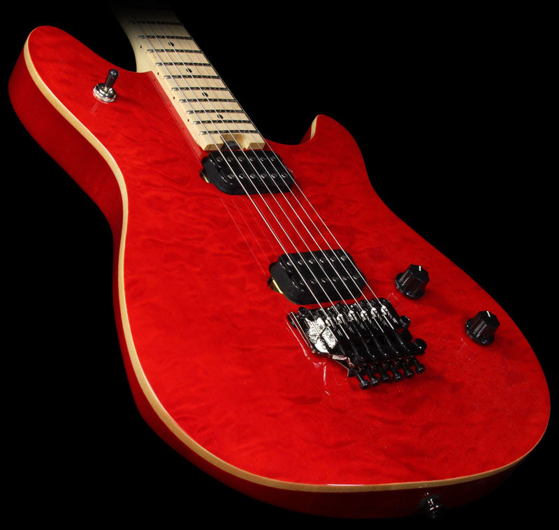 EVH Wolfgang WG Standard Electric Guitar Transparent Red