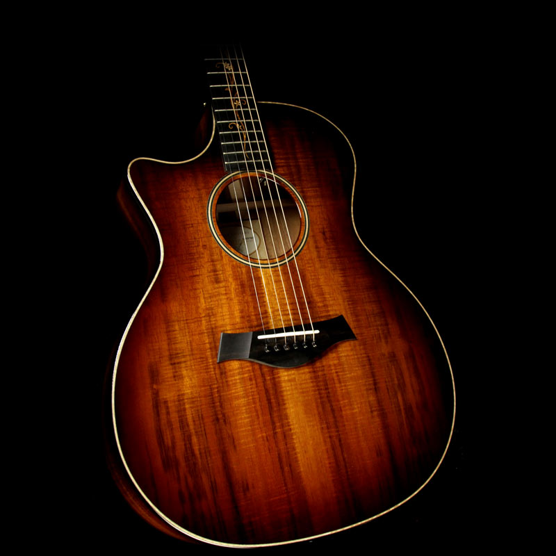 Taylor K24ce Koa Top Grand Auditorium Left-Handed Acoustic/Electric Guitar Shaded Edgeburst