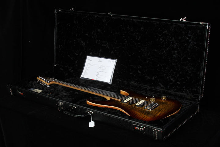 Used 2015 Suhr Modern Flame Maple Electric Guitar Light Bengal Burst 26079