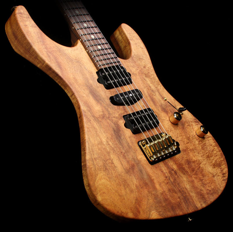 Suhr Modern Curly Koa Electric Guitar Natural Oil