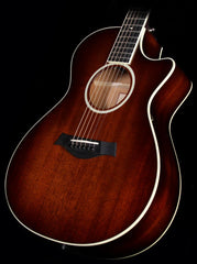 Used 2014 Taylor 522ce All-Mahogany Grand Concert Acoustic/Electric Guitar Shaded Edgeburst