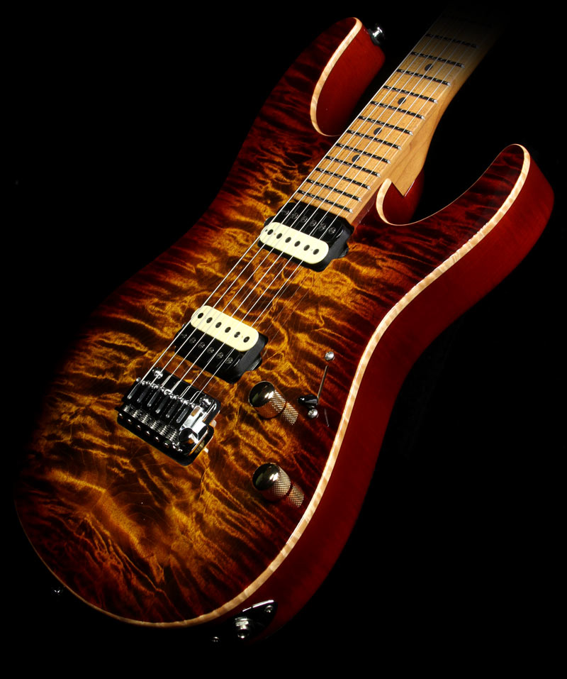 Suhr Modern Flame Maple Electric Guitar Light Bengal Burst