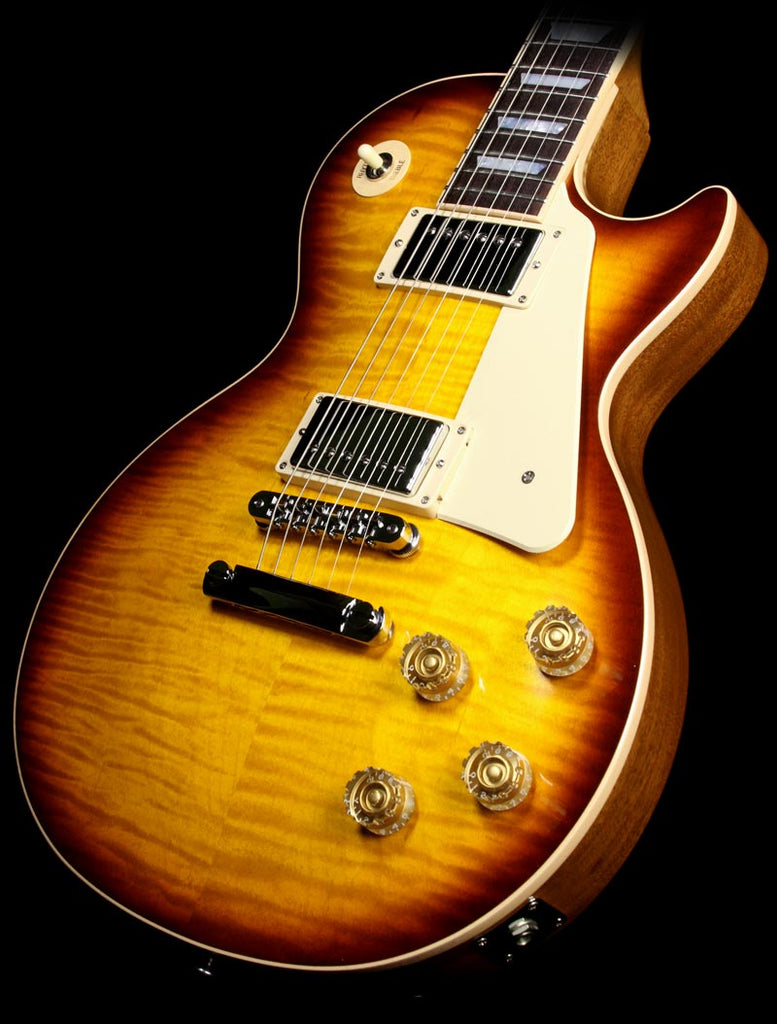 Used Gibson Les Paul Standard Electric Guitar Honeyburst Perimeter Candy