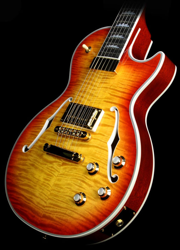 Used Gibson Les Paul Supreme Electric Guitar Heritage Cherry Sunburst Perimeter