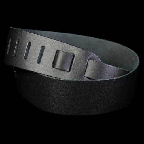 Planet Waves 2.5 Inch Basic Leather Strap Black 25BL00