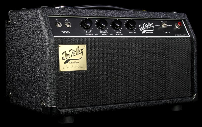 Used Jim Kelley Amplifiers Single Channel Reverb Guitar Amplifier Head