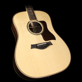 Used Taylor 810e Dreadnought Limited Edition Brazilian Rosewood Acoustic-Electric Guitar