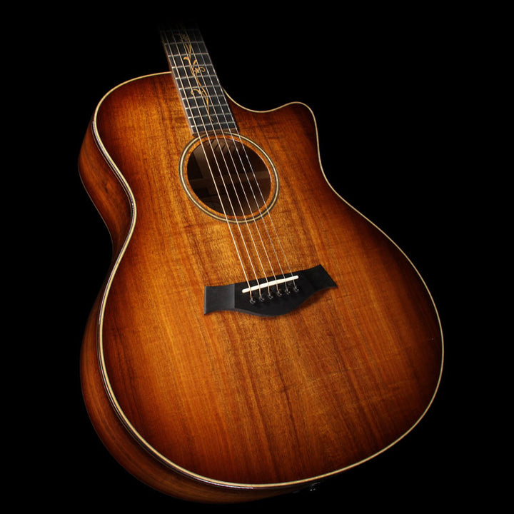 Used 2015 Taylor K26ce AA Koa Top Grand Symphony Acoustic Guitar 1102205139