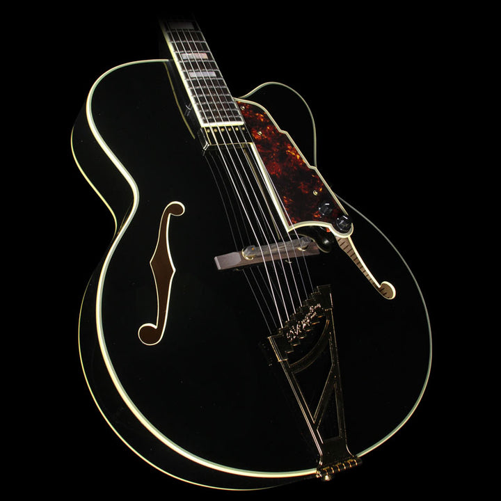 Used D'Angelico EXL-1 Archtop Hollow Body Electric Guitar Black US14080330