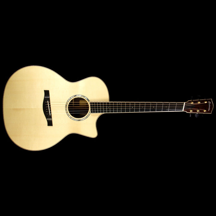 Used Eastman AC822CE Fanned Fret Acoustic Guitar Natural 14655580