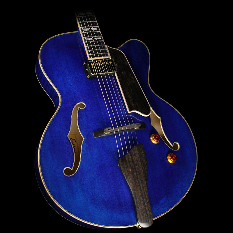 Eastman AR580CE-BLU Archtop Electric Guitar Blue