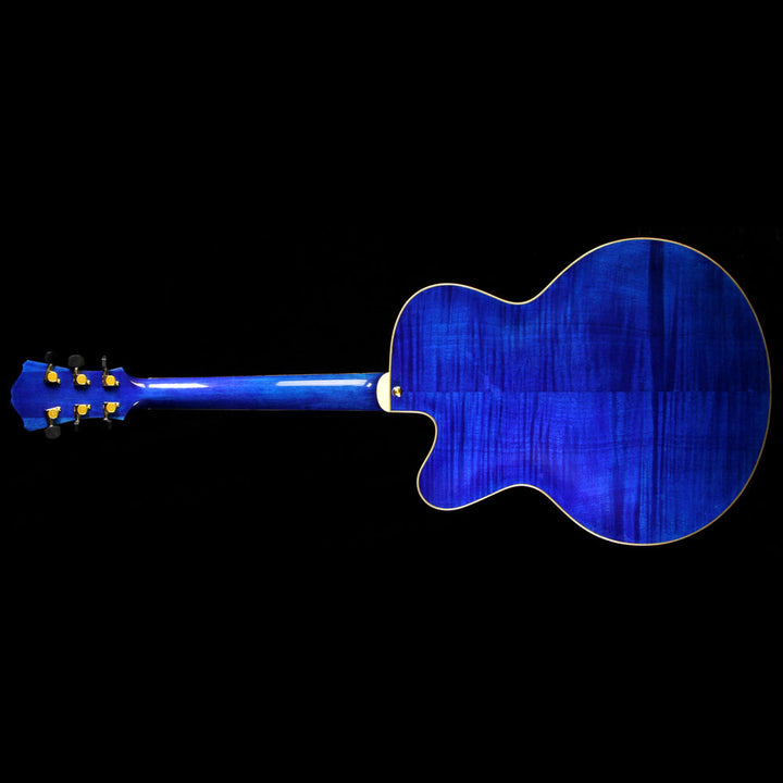 Used Eastman AR580CE-BLU Archtop Electric Guitar Blue 15650033