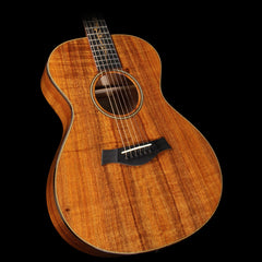 Used 2015 Taylor K22e AA Koa Top Grand Concert Acoustic/Electric Guitar Natural