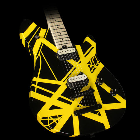 EVH Eddie Van Halen Wolfgang Special Electric Guitar Black and Yellow Stripes