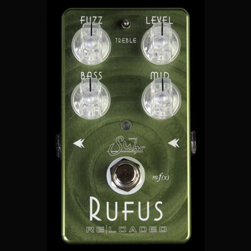 Suhr Rufus Reloaded Fuzz Electric Guitar Effects Pedal 03-RUF-0002