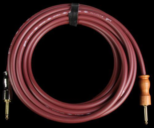 Gibson Gear CAB25-CH 25 Foot Instrument Cable Cherry Red